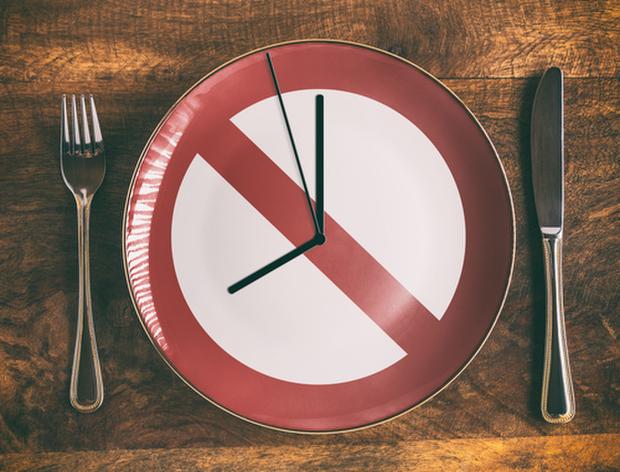 減肥的示意圖