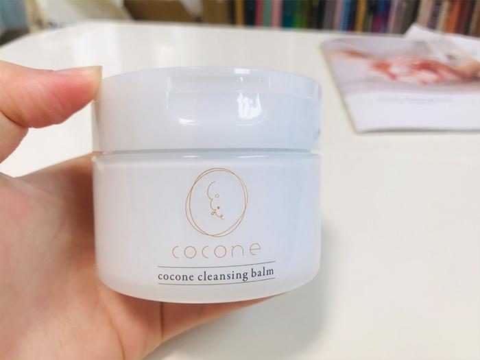 cocone七效合一卸妝潔顏乳霜的瓶子