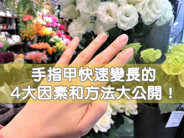 如何讓手指甲變長?讓指甲快速變長的4大方法大公開!