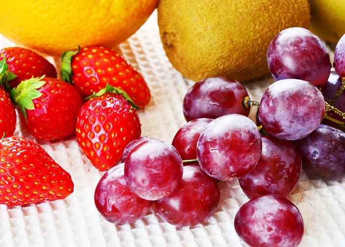 草莓和葡萄